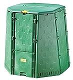 Juwel Thermokomposter AEROQUICK 890 XXL (Nutzinhalt 900 l, für Garten- und Küchenabfälle, Komposter aus UV-stabilen Recyclingkunststoff, mit 2 Entnahmeklappen, Deckel mit Windsicherung) 20157